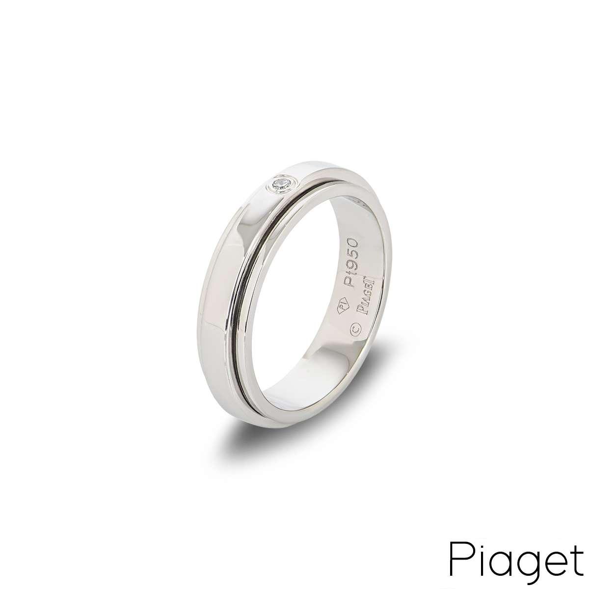 Piaget Diamond Set Possession Ring in Platinum